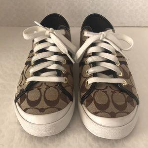 Coach Shoes - Coach(#Q1024) Folly Brown(Tan)  Sneakers